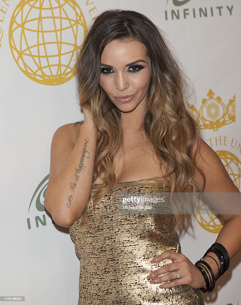Television personality Scheana Marie attends Queen Of The Universe International Beauty Pageant at Saban Theatre on March 16, 2014 in Beverly Hills, California.