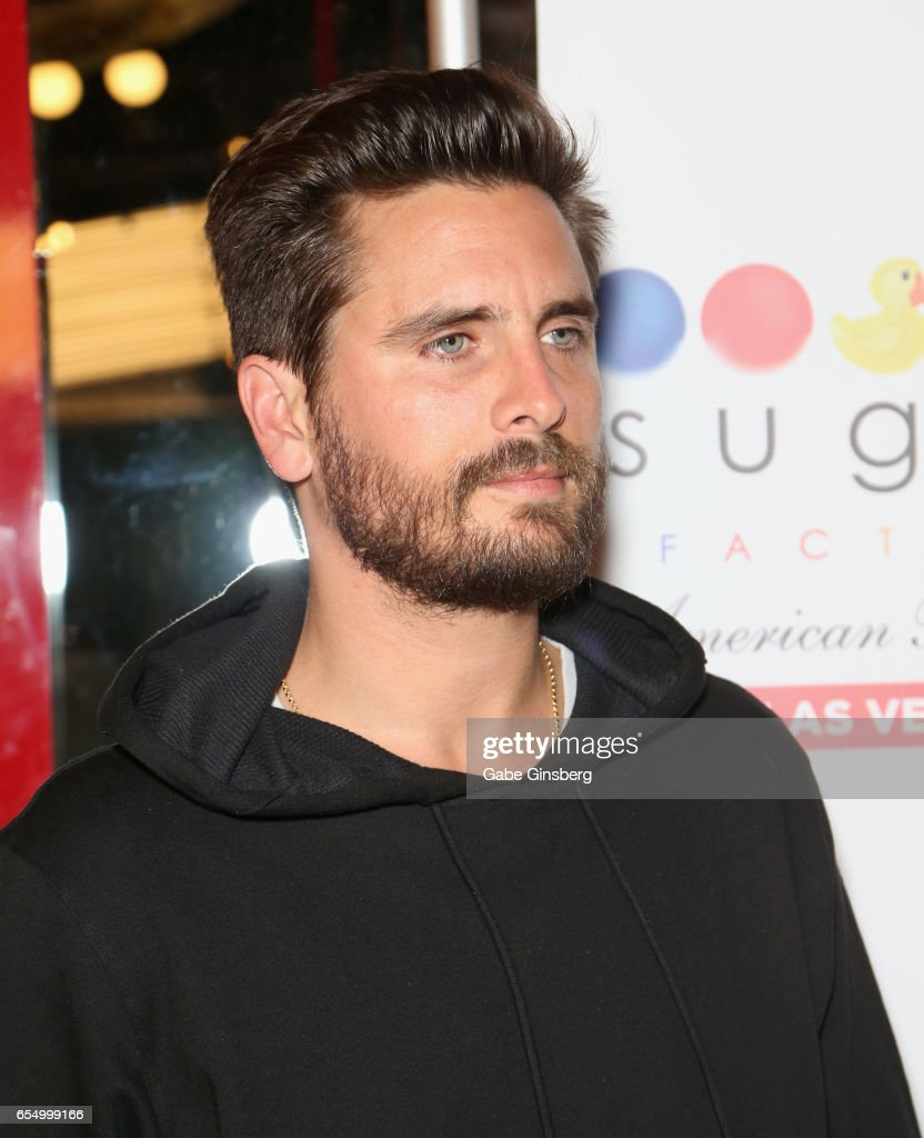 Television personality Scott Disick attends the grand opening of Sugar  Factory American Brasserie at the Fashion - Scott Disick Attends Grand Opening Of Sugar Factory American