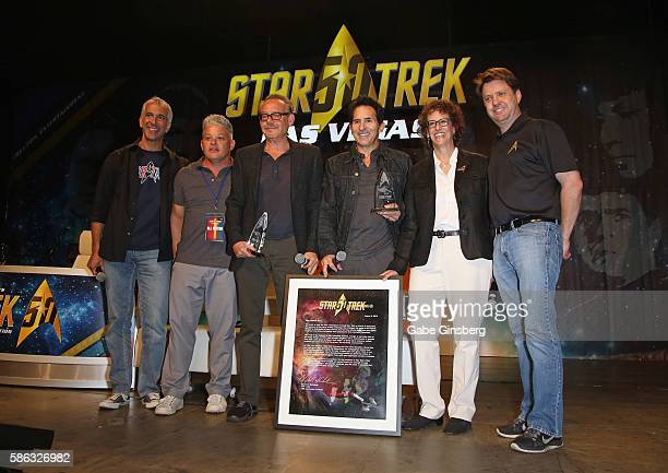Television personality Scott Mantz Vice President of Licensing of Creation Entertainment Erin Ferries Creation Entertainment coowner Gary Berman...