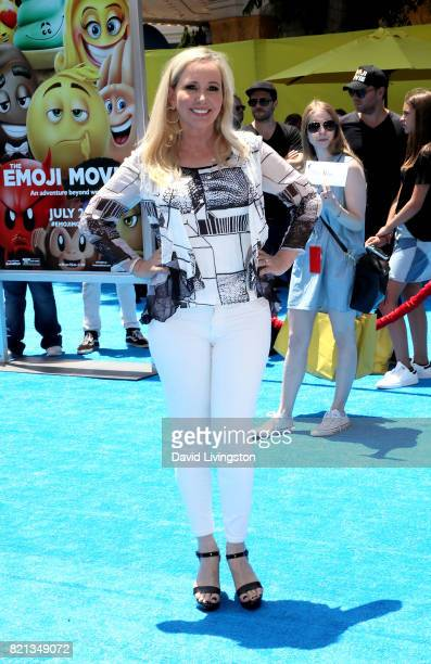 Television personality Shannon Beador attends the premiere of Columbia Pictures and Sony Pictures Animation's 'The Emoji Movie' at Regency Village...