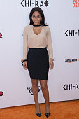 Television Personality Sharon Carpenter attends the 'CHIRAQ' New York premiere at the Ziegfeld Theater on December 1 2015 in New York City