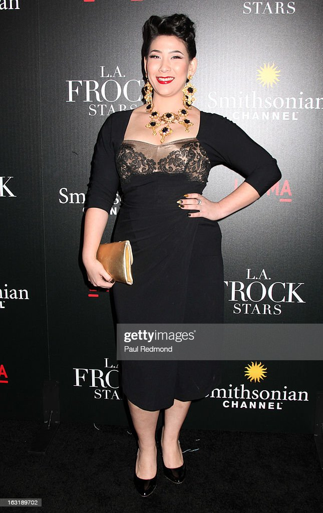 Television personality Shelly Lyn Erdmann arrives at 'L.A.Frock Stars' - Los Angeles Screening at LACMA on March 5, 2013 in Los Angeles, California.