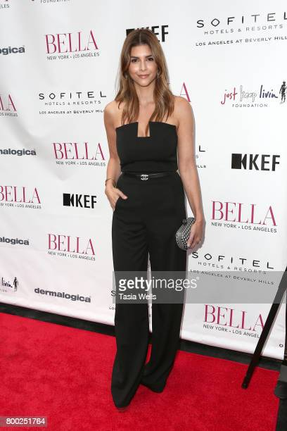 Television personality Shiva Safai attends the BELLA Los Angeles Summer Issue Cover Launch Party at Sofitel Los Angeles At Beverly Hills on June 23...