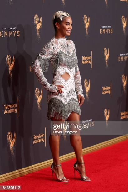 Television personality Sibley Scoles attends the 2017 Creative Arts Emmy Awards at Microsoft Theater on September 10 2017 in Los Angeles California