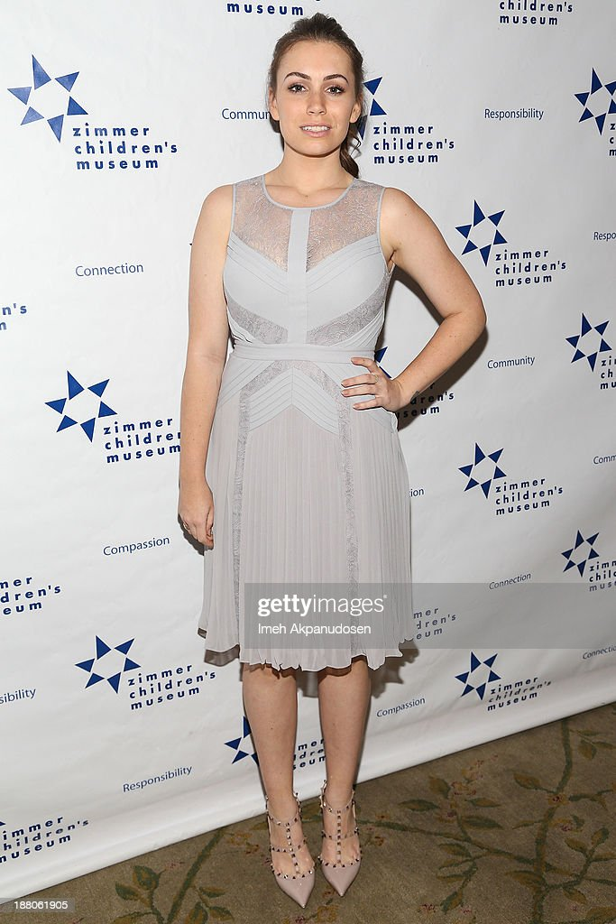 Television personality Sophie Simmons attends the 13th Annual Discovery Award Dinner presented by the Zimmer Children's Museum at Beverly Hills Hotel on November 14, 2013 in Beverly Hills, California.