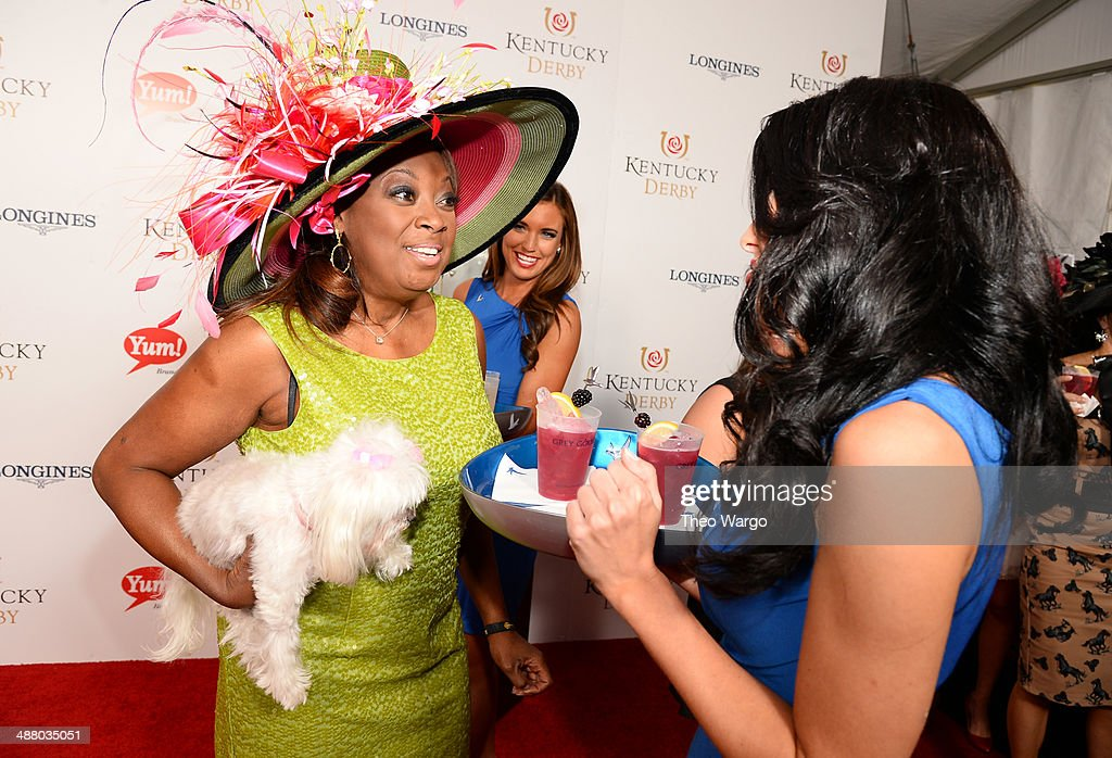 Television personality <a gi-track='captionPersonalityLinkClicked' href=/galleries/search?phrase=Star+Jones&family=editorial&specificpeople=202645 ng-click='$event.stopPropagation()'>Star Jones</a> at GREY GOOSE Lounge at 140th Kentucky Derby at Churchill Downs on May 3, 2014 in Louisville, Kentucky.