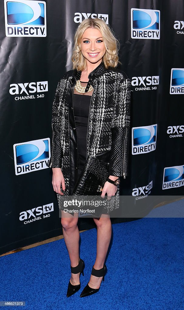 Television personality Stassi Schroeder attends the DirecTV Super Saturday Night at Pier 40 on February 1, 2014 in New York City.