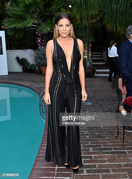 Television personality Stephanie Bauer attends the Vainty Fair and Spike celebration of the premiere of the new series 'TUT' at Chateau Marmont on...