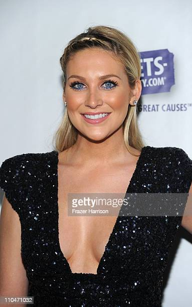 Television personality Stephanie Pratt arrives at Generosity Water's 3rd Annual 'Night Of Generosity' hosted by E personalities Jason Kennedy and...