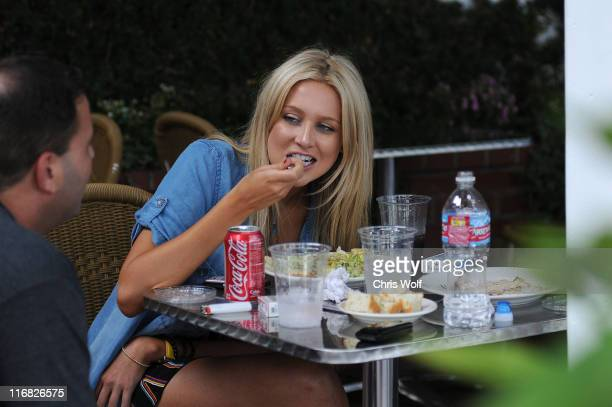 Television personality Stephanie Pratt sighting on July 8 2009 in West Hollywood California