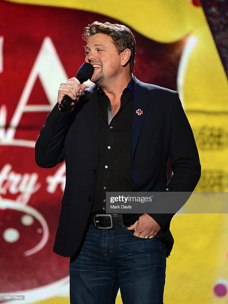 Television personality Storme Warren speaks onstage during the 2012 American Country Awards at the Mandalay Bay Events Center on December 10, 2012 in Las Vegas, Nevada.