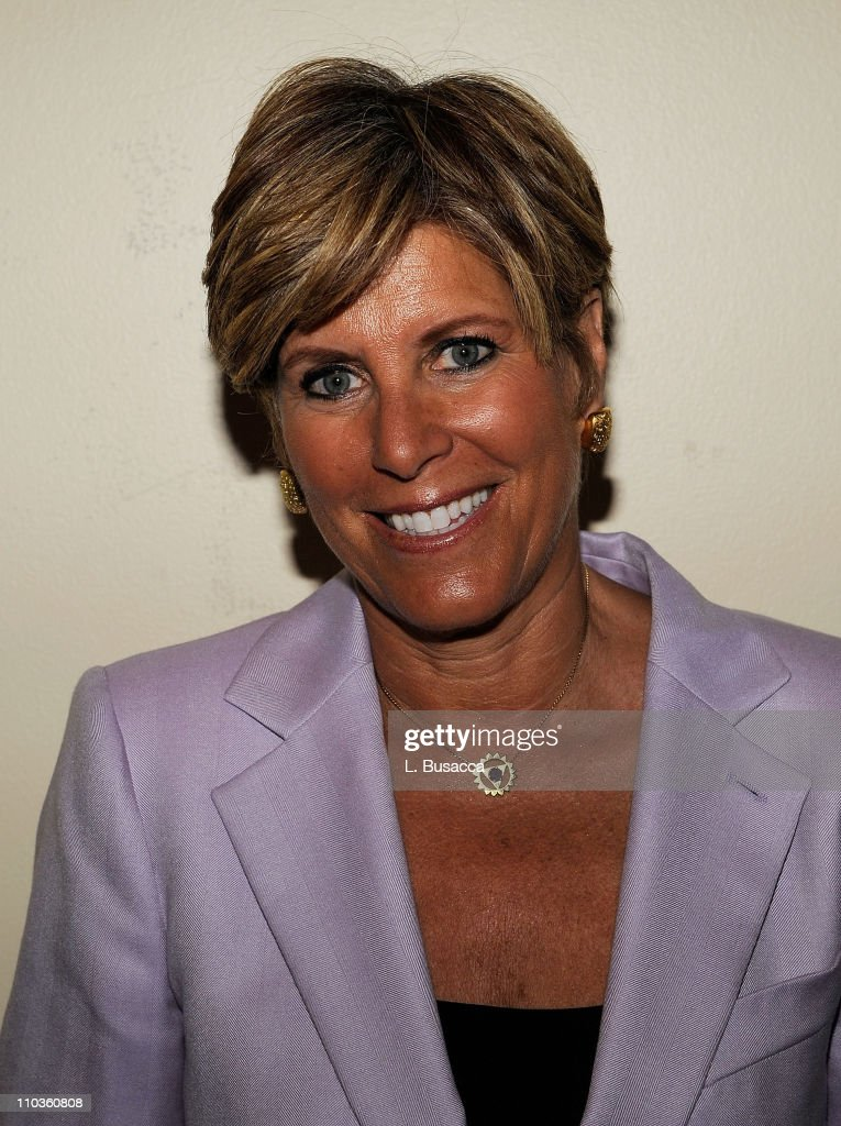 Television personality Suze Orman attends luncheon at the second annual Global Summit for a Better Tomorrow presented by UNIFEM in partnership with...