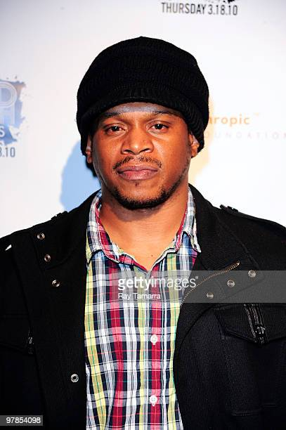 Television personality Sway Calloway attends the 2nd Annual Gold Rush Awards and Art Auction at Red Bull Space on March 18 2010 in New York City