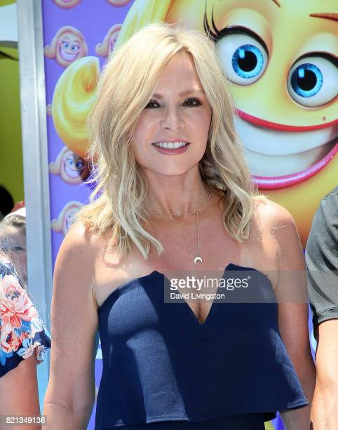 Television personality Tamra Judge attends the premiere of Columbia Pictures and Sony Pictures Animation's 'The Emoji Movie' at Regency Village...