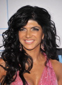 Television personality Teresa Giudice attends the 2011 Bravo Upfront at 82 Mercer on March 30 2011 in New York City
