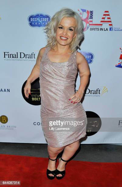 Television personality Terra Jole arrives at 10th Annual Toscars at The Renberg Theatre on February 22 2017 in Los Angeles California