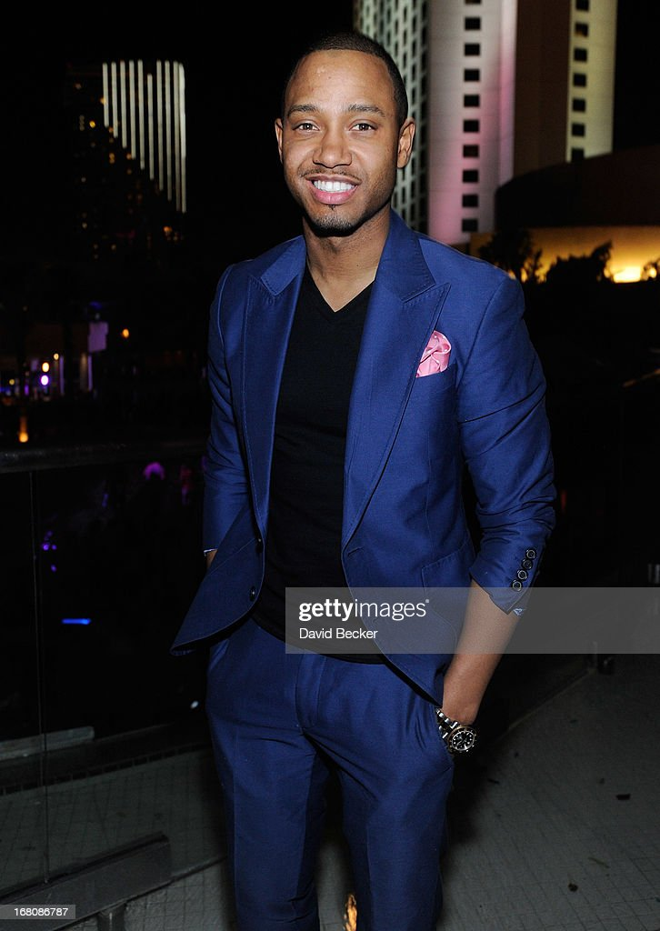 Television personality <a gi-track='captionPersonalityLinkClicked' href=/galleries/search?phrase=Terrence+J&family=editorial&specificpeople=4419581 ng-click='$event.stopPropagation()'>Terrence J</a>enkins attends the Fight Night after party at the Palms Casino Resort on May 4, 2013 in Las Vegas, Nevada.