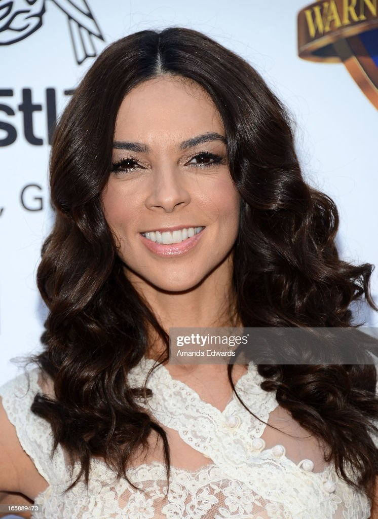 Television personality Terri Seymour arrives at the Jenesse Center's 2013 Silver Rose Gala & Auction at Vibiana on April 6, 2013 in Los Angeles, California.