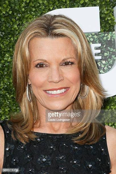 Television personality Vanna White arrives at the CBS CW Showtime Summer TCA Party at the Pacific Design Center on August 10 2016 in West Hollywood...