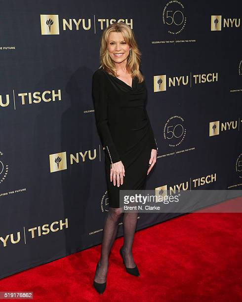 Television personality Vanna White attends the NYU Tisch School of the Arts 50th Anniversary Gala held at Frederick P Rose Hall Jazz at Lincoln...