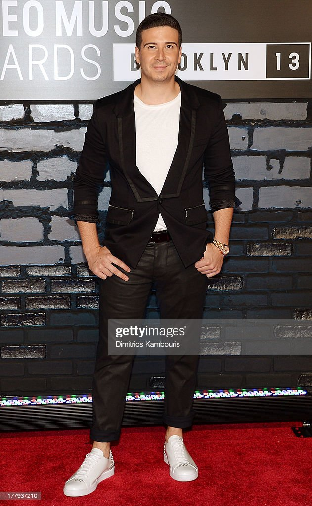Television personality Vinny Guadagnino attends the 2013 MTV Video Music Awards at the Barclays Center on August 25, 2013 in the Brooklyn borough of New York City.
