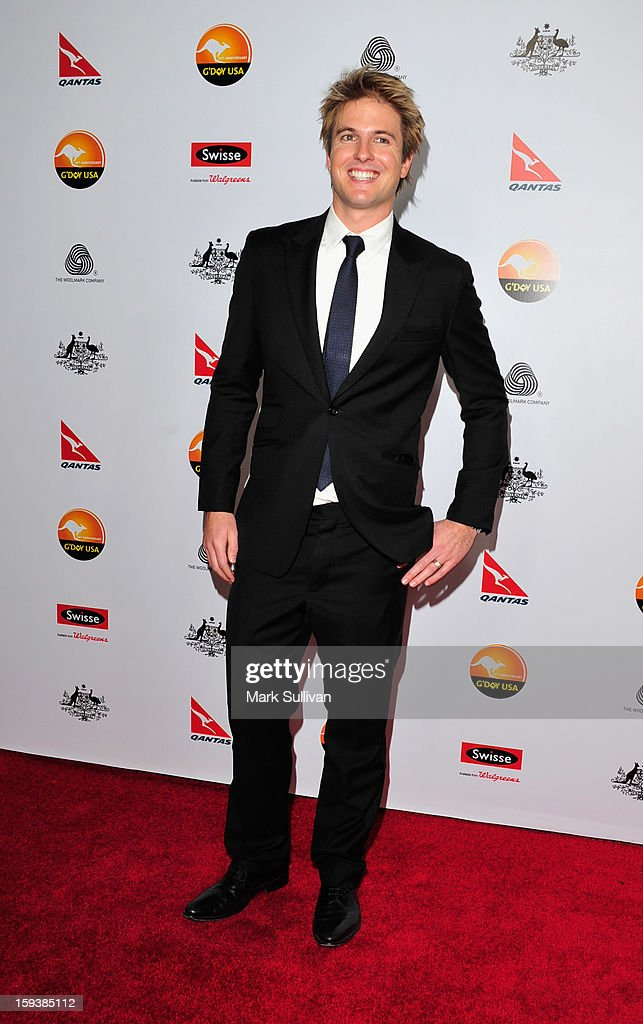 Television personality Wesley Dening arrives for the G'Day USA Black Tie Gala held at at the JW Marriot at LA Live on January 12, 2013 in Los Angeles, California.