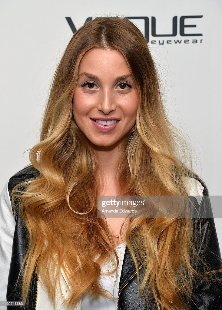Television personality <a gi-track='captionPersonalityLinkClicked' href=/galleries/search?phrase=Whitney+Port&family=editorial&specificpeople=544473 ng-click='$event.stopPropagation()'>Whitney Port</a> arrives at the Council Of Fashion Designers Of America's 4th Annual Design Series For Vogue Eyewear party on January 14, 2014 in Beverly Hills, California.