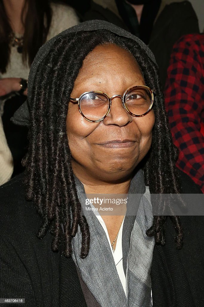 Television personality Whoopi Goldberg attends the KTZ  runway show during MADE Fashion Week Fall 2015 at Milk Studios on February 17 2015 in New...