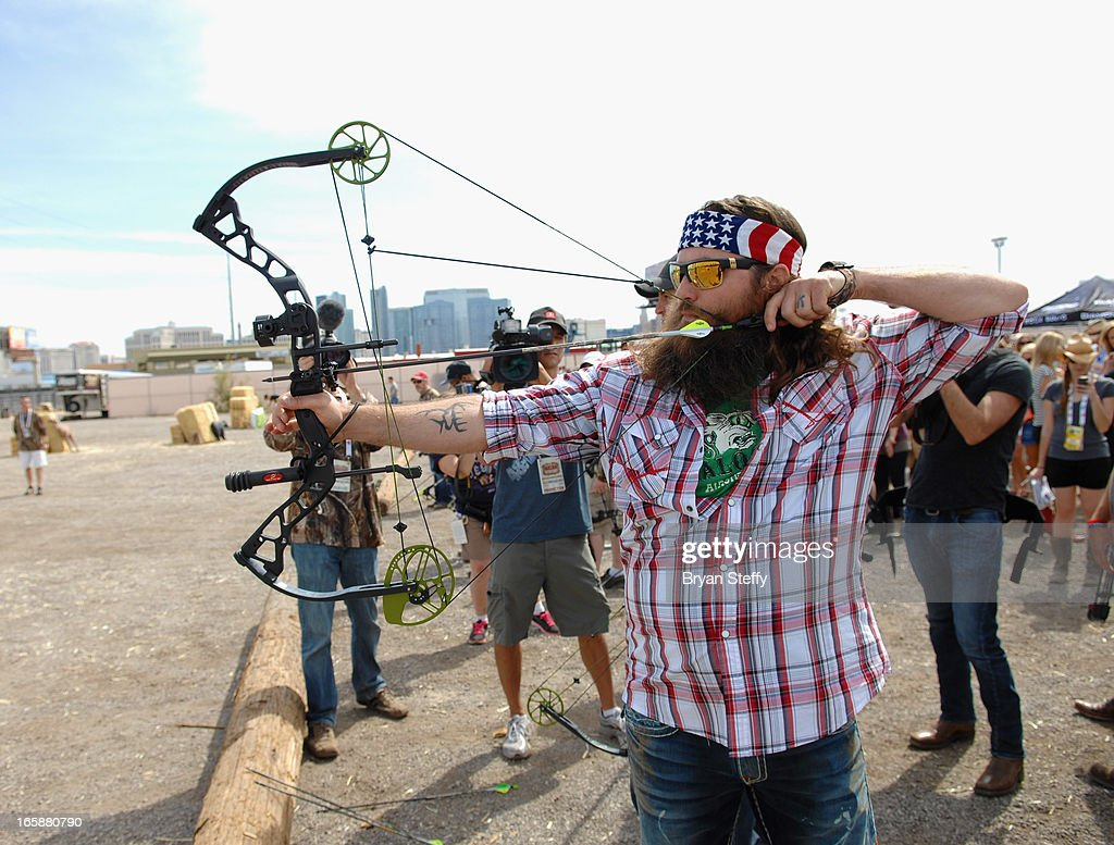 Television personality Willie Robertson attends the 48th Annual Academy Of Country Music Awards & Cabela's Great Outdoors Archery event at the Orleans Arena on April 6, 2013 in Las Vegas, Nevada.