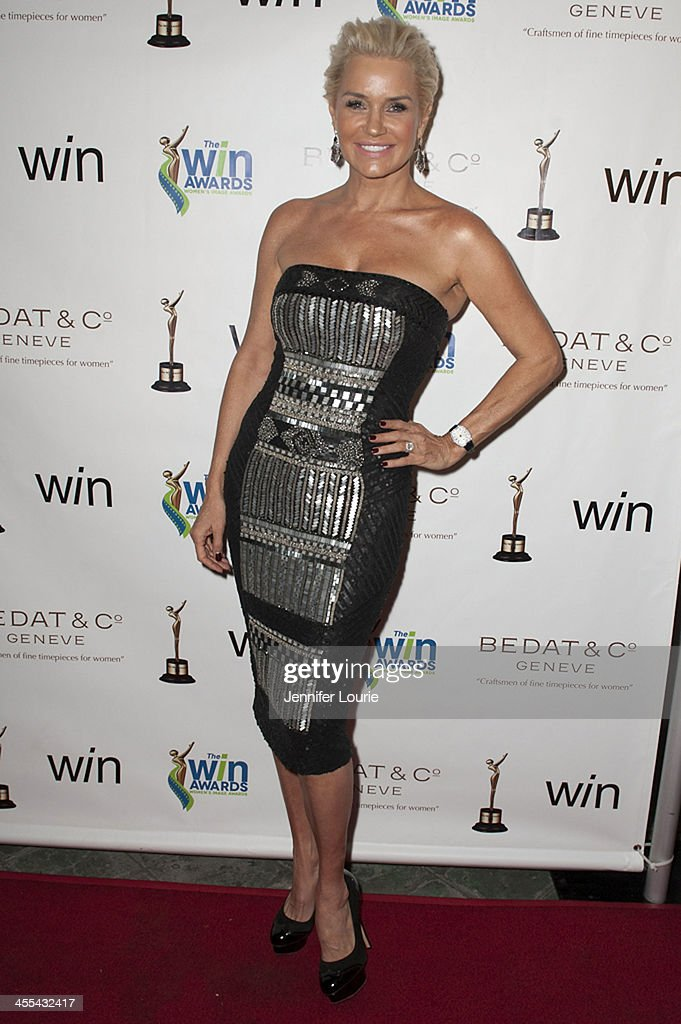 Television personality Yolanda Foster arrives at the 2013 annual Women's Image Awards at Santa Monica Bay Woman's Club on December 11, 2013 in Santa Monica, California.