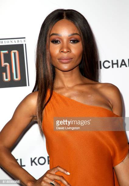 Television personality Zuri Hall attends Sports Illustrated Fashionable 50 at Avenue on July 18 2017 in Los Angeles California
