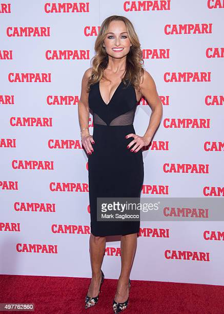 Television Personality/Chef Giada De Laurentiis attends the Campari Calendar 2016 Launch at The Standard Hotel on November 18 2015 in New York City