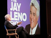 Television personality/comedian Jay Leno attends the NBC Network portion of the 2009 Summer Television Critics Association Press Tour at The Langham...