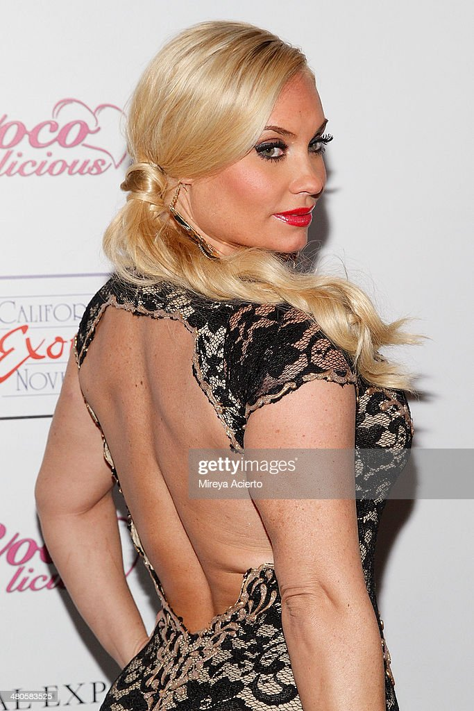 Television personality/model Coco Austin attends the Coco Licious launch party at The Raven on March 25, 2014 in New York City.