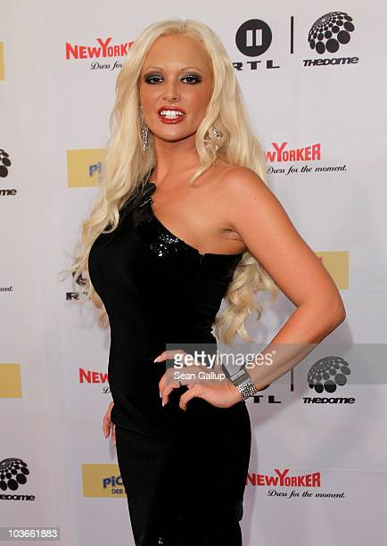 Television presenter Daniela Katzenberger attends The Dome 55 on August 27 2010 in Hannover Germany