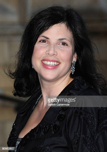 Television presenter Kirstie Allsopp arrives at Breast Cancer Haven's 'The Blush Ball 2008' May 1 2008 in London England