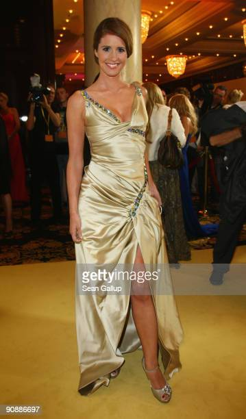 Television presenter Mareile Hoeppner attends the dreamball 2009 charity gala at the RitzCarlton on September 17 2009 in Berlin Germany