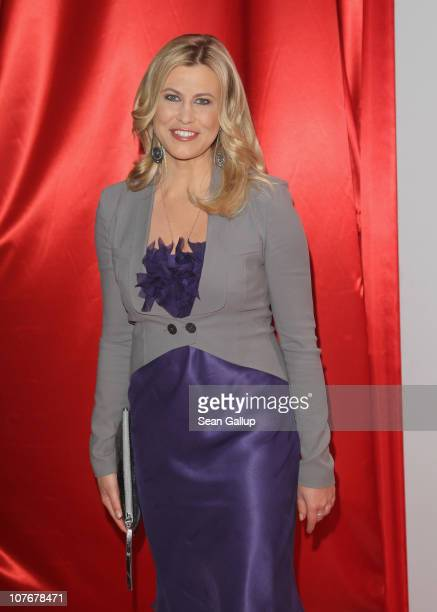 Television presenter Nadine Krueger attends the 'Ein Herz Fuer Kinder' charity gala at Axel Springer Haus on December 18 2010 in Berlin Germany