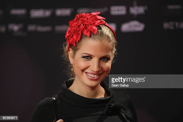Television presenter Susan Sideropoulos attends the premiere of 'Romy' at the Delphi cinema on October 27 2009 in Berlin Germany
