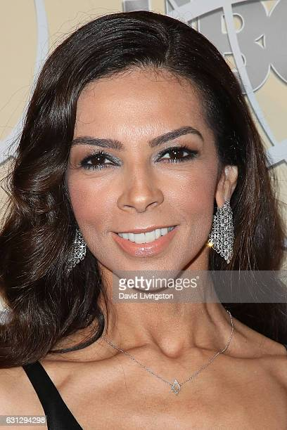 Television presenter Terri Seymour arrives at HBO's Official Golden Globe Awards after party at the Circa 55 Restaurant on January 8 2017 in Los...