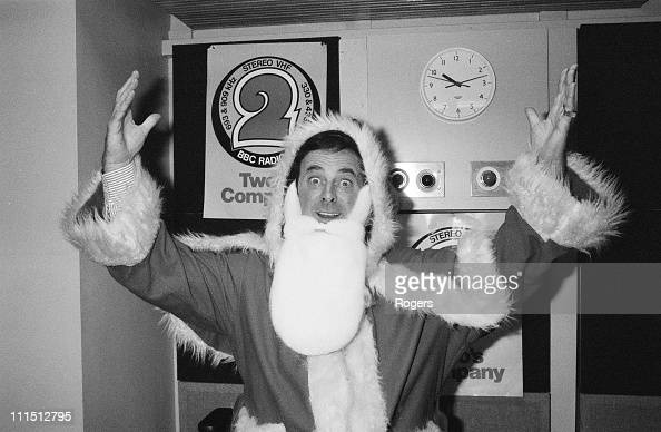 Television presenter Terry Wogan dressed as Father Christmas 16th December 1983