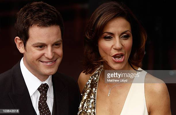 Television presenters Matt Baker and Julia Bradbury arrive at the National Lottery Awards 2010 held at the Camden Roundhouse on September 4 2010 in...