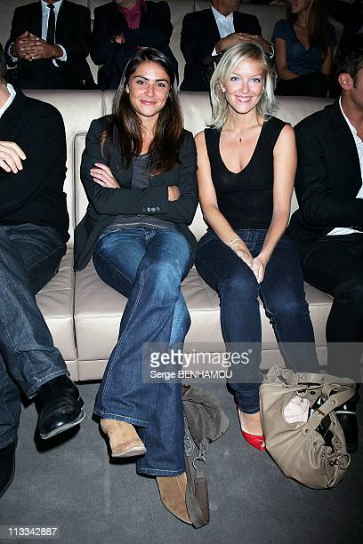 Television Press Conference In Paris France On September 03 2008 Sonia Chironi and Maya Lauque