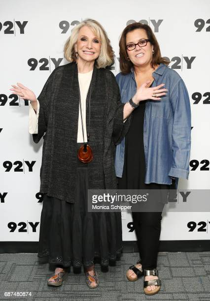 Television producer and the President of HBO Documentary Films Sheila Nevins and actress comedian and author Rosie O'Donnell attends 92nd Street Y...