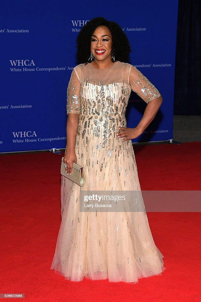 Television producer Shonda Rhimes attends the 102nd White House Correspondents' Association Dinner on April 30, 2016 in Washington, DC.