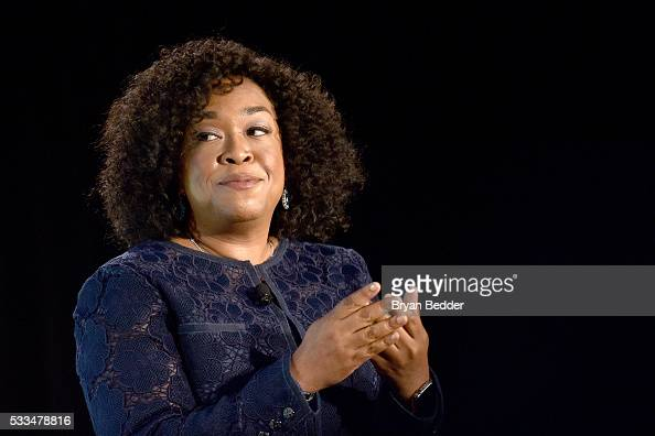 Television producer Shonda Rhimes speaks at the 2016 Vulture Festival at Milk Studios on May 22 2016 in New York City