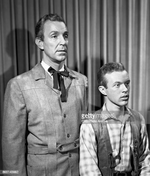 CBS television program 'Schlitz Playhouse of Stars episode The Bitter Land John Newland and Jack Dimond Show broadcast April 30 1956