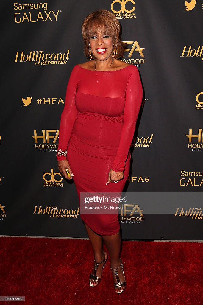 Television reporter Gayle King attends The Hollywood Reporter's 18th Annual Hollywood Film Awards After Party at the W Hollywood on November 14, 2014 in Hollywood, California.
