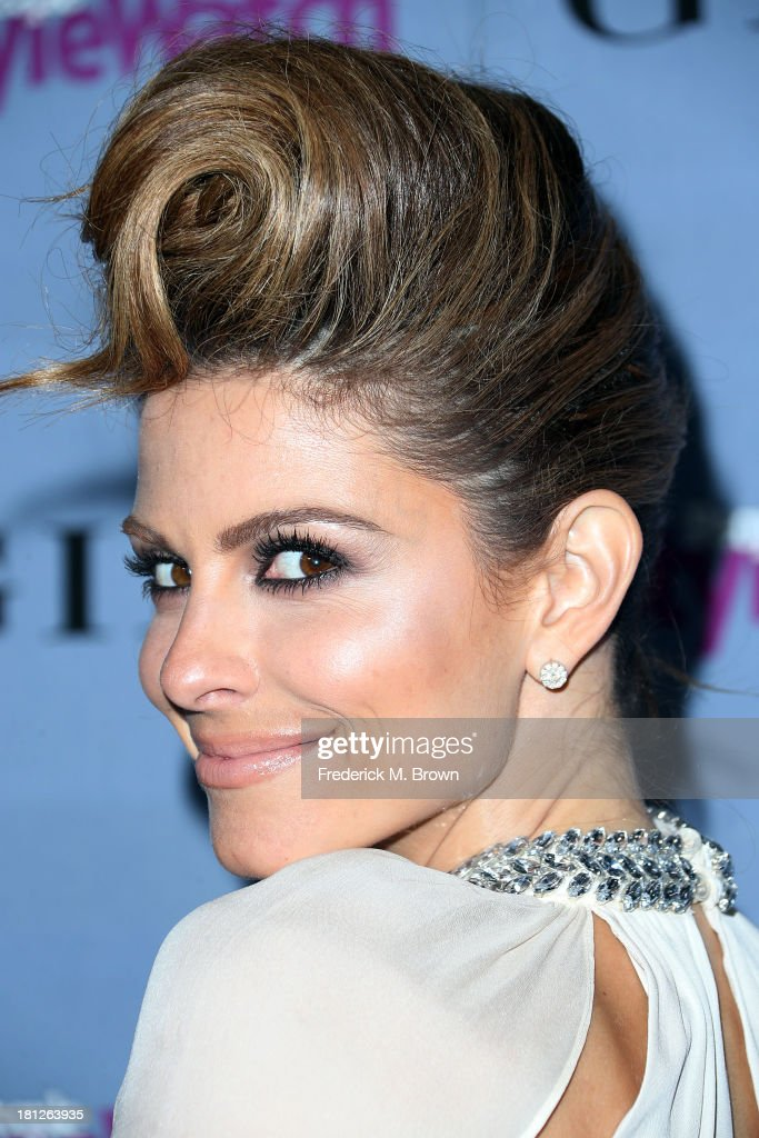 Television reporter Maria Menounos attends the People StyleWatch Denim Awards by GILT at the Palihouse on September 19, 2013 in West Hollywood, California.