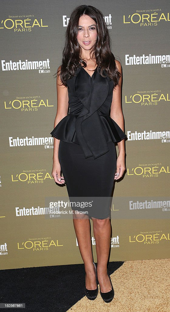Television reporter Terri Seymour attends the 2012 Entertainment Weekly Pre-Emmy Party at the Fig & Olive on September 21, 2012 in West Hollywood, California.